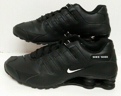 low priced f2fb3 503e6 Nike Shox NZ EU Black White 501524 091 Men s size