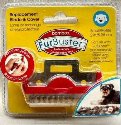 Bamboo Furbuster small dog replacement 2in blade & cover deshedding tool