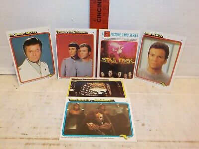 Star Trek 1979 The Motion Picture Rainbo Bread Complete (33) Trading Card Set