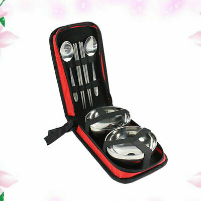 7PCS/Set Tableware Kit Portable High Quality Durable Picnic Pack for Outdoor