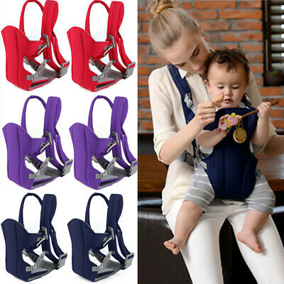 Newborn Baby Carrier Sling Wrap Backpack Front Back Chest Ergonomic Breathable