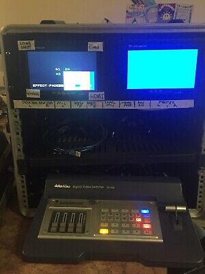SD Video Mixing Rig In Rack Case