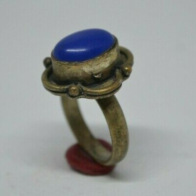 Extremely Ancient Antique Rare Vintage Ring Viking Old Silver Artifact Quality 2