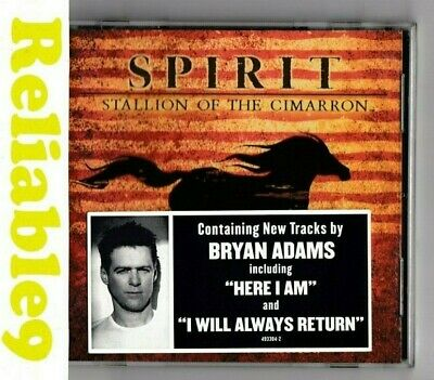 Bryan Adams- Spirit Stallion of the Cimarron Soundtrack CD New not sealed-2002AU