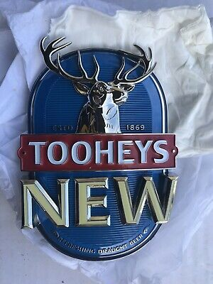 Tooheys New Beer Tap Badge - Like New