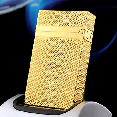 Lighter NEW S.T Memorial lighter Bright Sound! free shipping Gold lighter