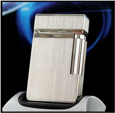 New S.T Dupont lighter Silver Colour Bright Sound Memorial lighter 065