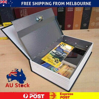 Hidden Treasure Dictionary Lockable Book Safe Box With Two Key Lock safes L / M