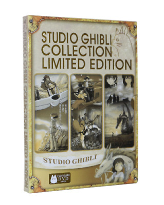 Studio Ghibli Collection Limited Edition DVD 6 Disc Set All Region UK Compatible