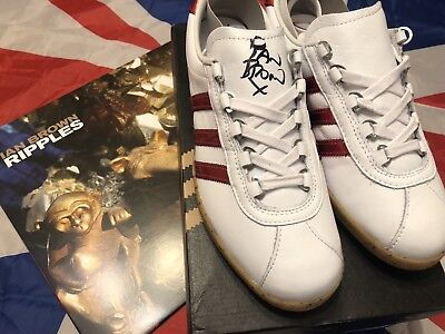b5b9c13f0bed Ian Brown Signed Adidas Trimm Star X Colnago With Vinyl DEADSTOCK Stone  Roses