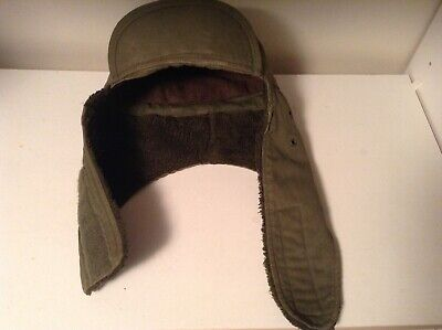c70728d81 U.S ARMY STYLE M-51 Military Winter Cold Weather Hat Od Green Ear ...