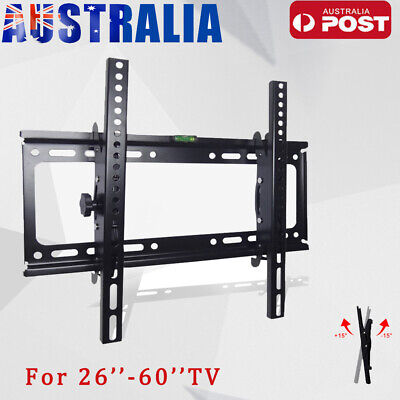 "Universal Tilt TV Wall Mount Bracket SONY SAMSUNG LG Panasonic 26""-55""LED LCD 3D"