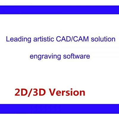 Type3 CAD/CAM Engraving Software 2D/3D Version for Industrial Artistic Applicate
