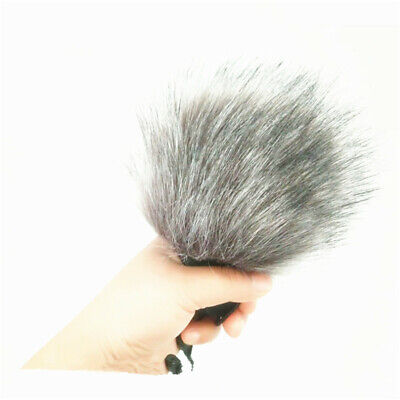Anti-Wind Noise Prevention Microphone Muff Fur Windshield Cover For Zoom H1