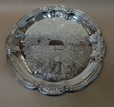 Beautiful Vintage Rodd Silver Plated Serving Tray
