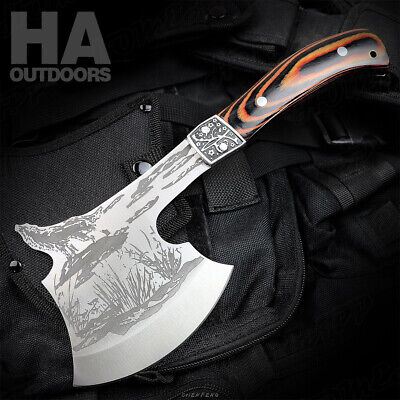 Outdoor Camping Axe Rescue Firefighter Axe Hunting Tools Hiking Survival Hatchet