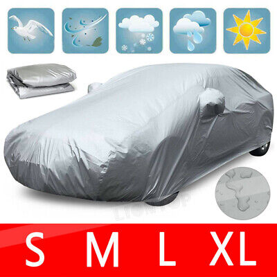 Outdoor Car Cover Protector Scratch Dust Sun Rain Snow UV WaterProof Resistant