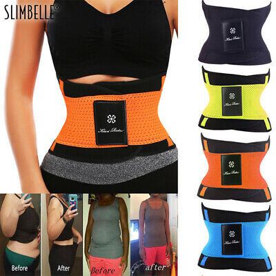 Fajas Reductoras Slimming Body Shaper Girdle Abdomen Sauna Cincher Sweat Belt US