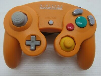 gamecube controller Spice orange refurbished Nintendo official GC/Wii Japan