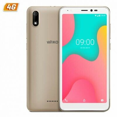 Smartphone Wiko Y60 Gold QC 1.3Ghz 1GB 16GB 5.45 5 5MP Android 9