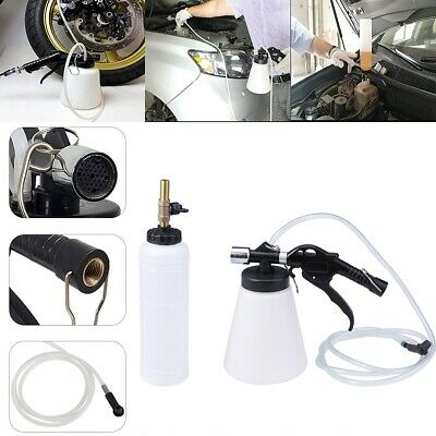 Pneumatic Brake Fluid Bleeder Kit Car Air Extractor Clutch 1L Oil Bleeding USA