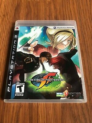 The King of Fighters XII (Sony PlayStation 3, 2009) Complete!