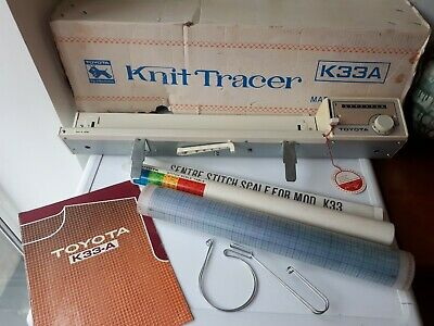 Toyota Knit Tracer K33A with Instruction Manual and Box
