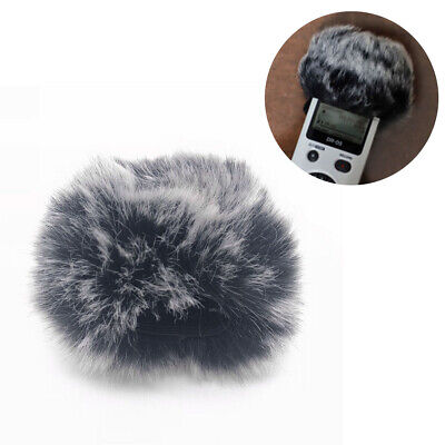 Outdoor furry fur wind muff windscreen cover for Tascam DR-05 V2 DR22 Recorder