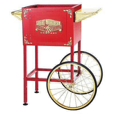 Red Replacement Cart for Larger Roosevelt Style Great Northern Popcorn Machines