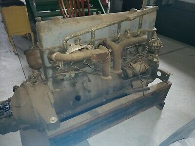 1926 Stutz Motor Car Engine Barn Fresh In Storage For The Last 20 Years!