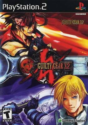 Guilty Gear X2 For PlayStation 2 PS2 Game Only 7E