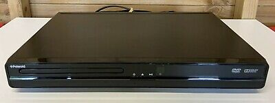 Polaroid Compact Black Slim DVD Player - Tested & Working - NO REMOTE