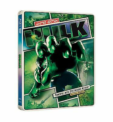 Hulk Limited Edition, Null Steelbook Packaging(Blu-ray Disc, 2012)