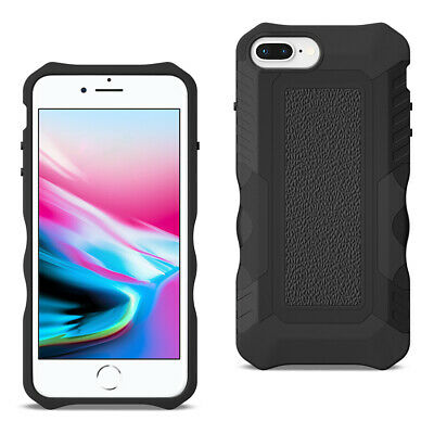 APPLE IPHONE 8 PLUS Slim Shockproof Protective Anti-Slip Heavy duty Case Black