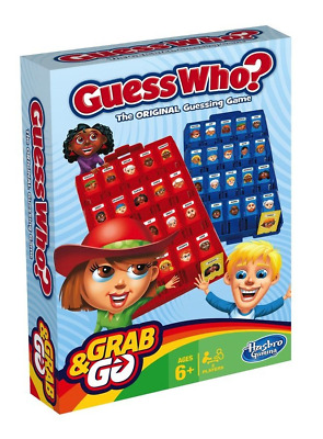 Hasbro Guess Who Grab and Go - FAST AND FREE - Travel Game