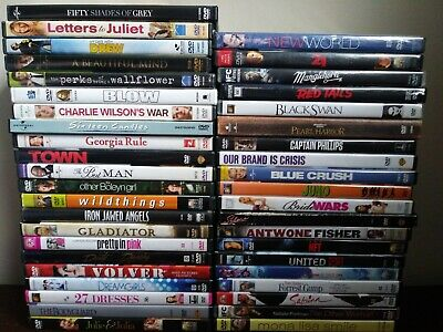 Huge DVD LOT * Drama * Romance * Bio * Period * Independent * Great titles!