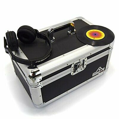 """Gorilla 7"""" Singles Vinyl Record Carry Case Storage Box Tough Strong Holds 200"""