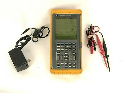 Fluke 97 50MHz Scopemeter 2 Channel Handheld Digital Oscilloscope & Multimeter