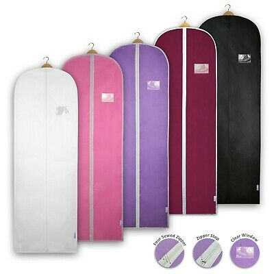 Dress Covers Garment Bags Clothes Gown Breathable Storage Travel Carriers