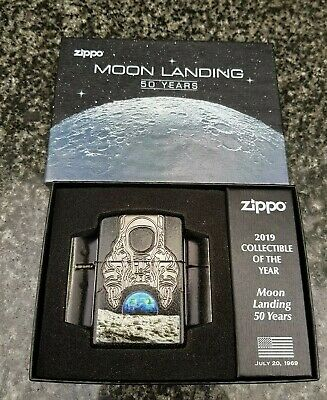 Zippo, Moon Landing, 50 Years 2019 Collectable Of The Year Limited Edition