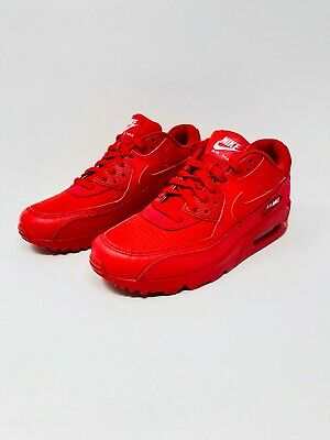 d560936dc1 Nike Men's Air Max 90 Essential Running Sneakers Red White Size 9.5  (AJ1285-602