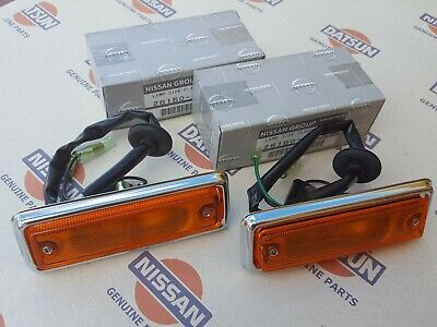 Datsun Nissan 1200 ute ( fits: b110, b120, ) Side Flasher Lamp Ass'y Genuine
