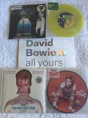 David Bowie full set of RSD specials + Bowie Is specials + Heroes Germany only