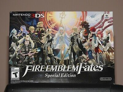 Fire Emblem Fates: Special Edition limited (Nintendo 3DS, 2016) BRAND NEW
