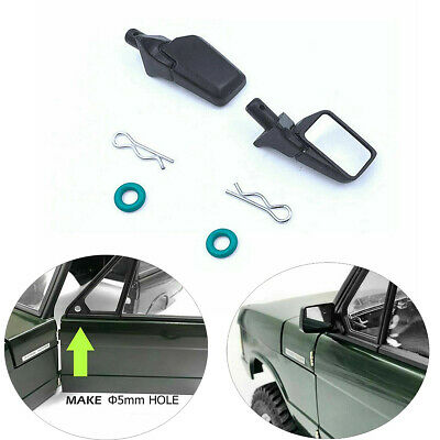 Rubber Rearview Mirror Kit For CChand 1/10 RC Range Rover Classic Body