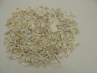 Lego 5X Pounds Lbs WHITE Parts Pieces Building Brick Specialty Bulk lb Lot 1