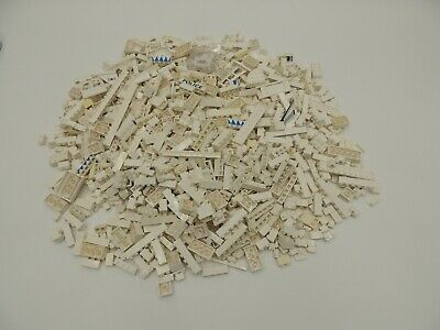 Lego 3X 3 Pounds Lbs WHITE Parts Pieces Building Brick Specialty Bulk lb Lot