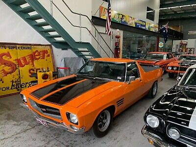 1972 Holden Hq Ute Finished In Gleaming Orange Duco Litre 4.2 V8 Auto