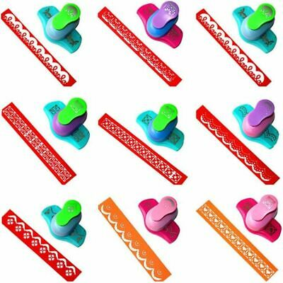 Embossing Punch ABS Metal Fancy Paper Border Puncher Edge-cutters For Scrapbooks