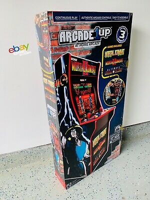 2019 Arcade1Up Mortal Kombat! In Hand **LAST ONE** - 100% Authentic Receipt Copy